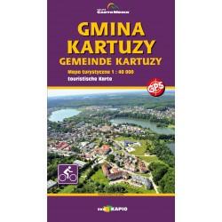 Gmina Kartuzy - MAPA LAMINOWANA