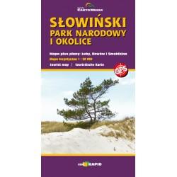 Słowiński Park Narodowy i okolice - MAPA LAMINOWANA