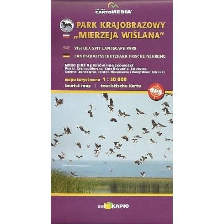 Park Krajobrazowy Mierzeja Wiślana - sześć planów miejscowości