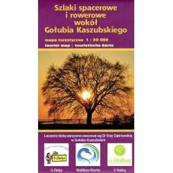 Szlaki spacerowe i rowerowe wokół Gołubia Kaszubskiego